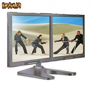 Двойной экран для широты взгляда