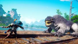 Biomutant показали на PS4 Pro, PS4, Xbox One и Xbox One X без склеек