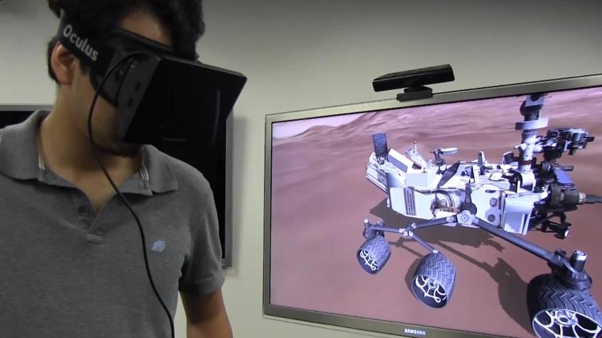 NASA использовала Oculus Rift для виртуального путешествия на Марс