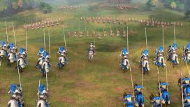 Разработчики Age of Empires IV показали мультиплеерный матч