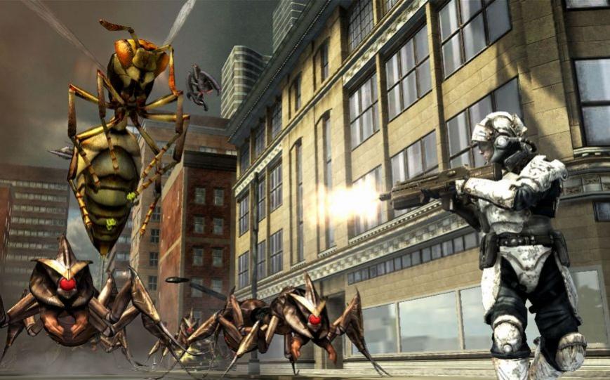 Спаси Землю от насекомых!