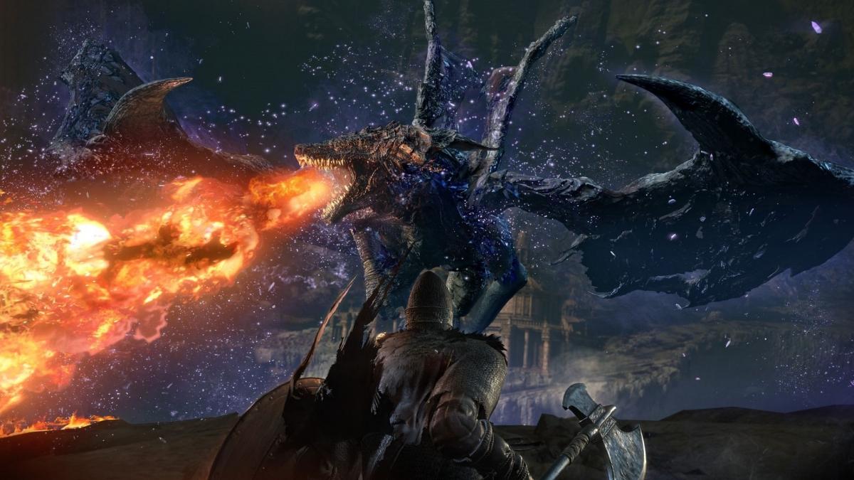 Игрок одолел босса из DLC для Dark Souls3 со сломанным мечом и без одежды