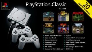 Sony представила полный список игр для PlayStation Classic