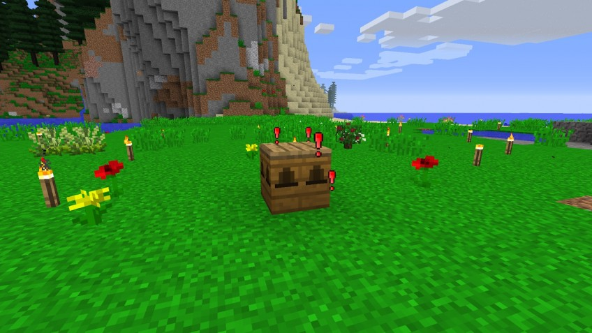 В Minecraft появились гигантские пчёлы и мёд