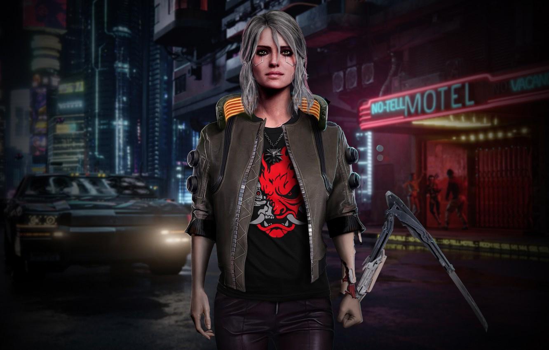 Цири появилась в Cyberpunk 2077, но мы её не узнали?