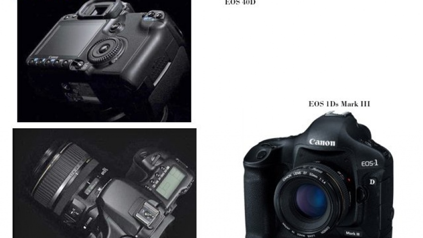 На подходе: Canon EOS 40D, EOS 1Ds Mark III