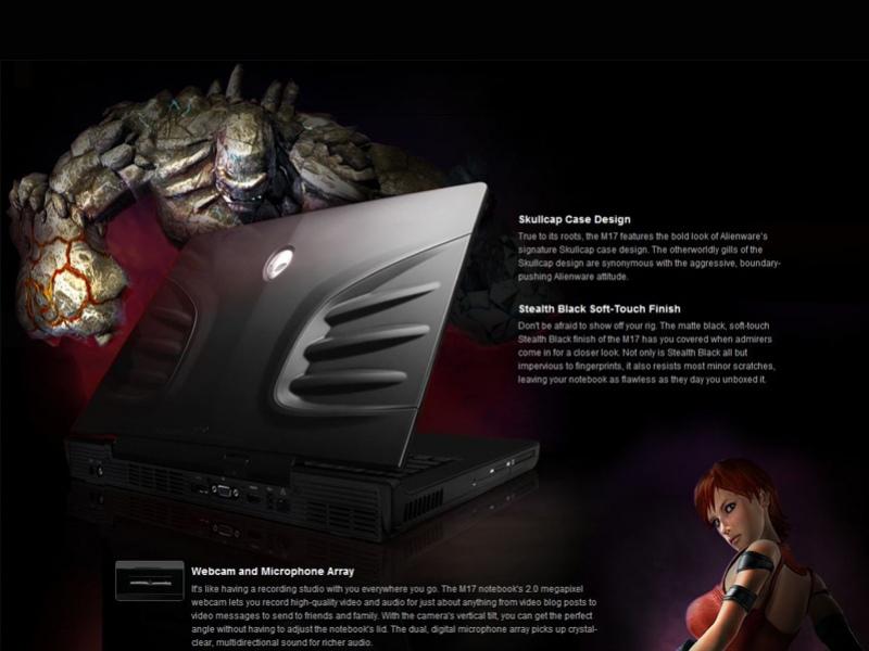 Экстремальный геймерский ноутбук Alienware