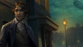 Герой приключения Lamplight City общается с погибшим напарником