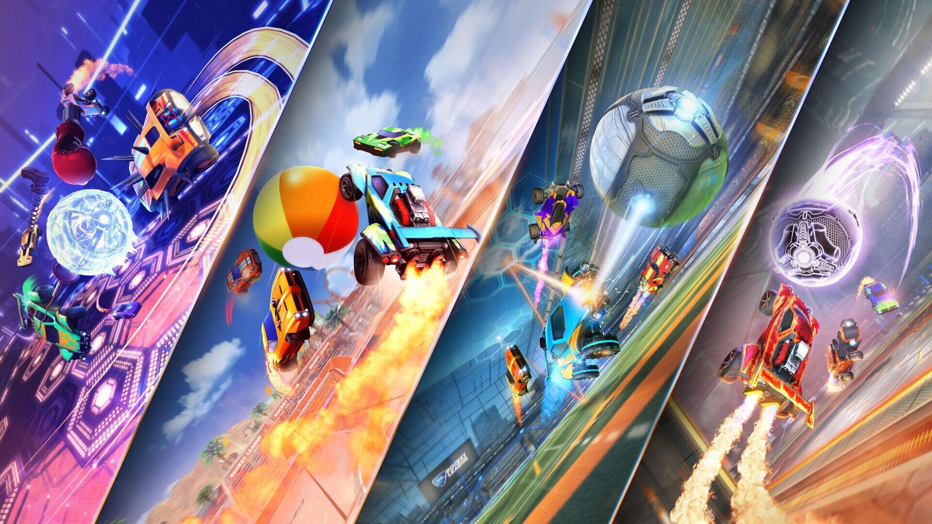 В мае игроков Rocket League ждут четыре временных режима