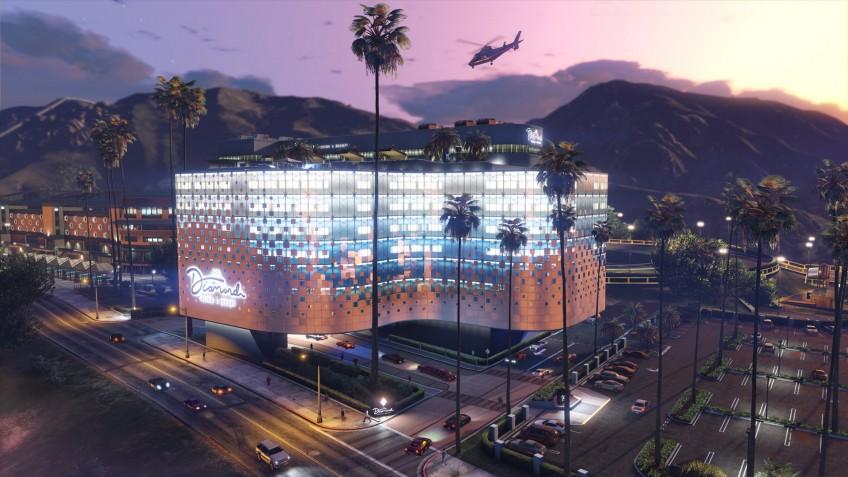 Ограбить казино Diamond в GTA Online можно будет с12 декабря