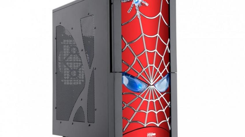 Корпус для фанатов Человека-паука