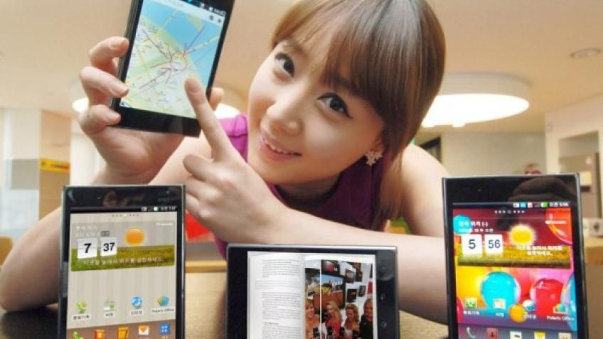 LG показала смартфон-планшет Optimus Vu до конгресса MWC