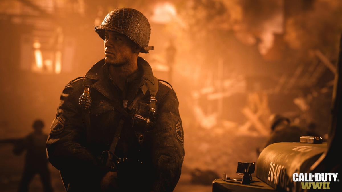 Яростные перестрелки времен второй мировой в новом трейлере Call of Duty: WWII
