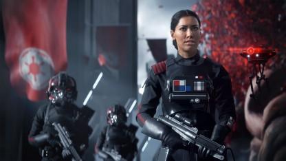 Дворцы и водопад: на новом постере Star Wars Battlefront 2 показали столицу Набу