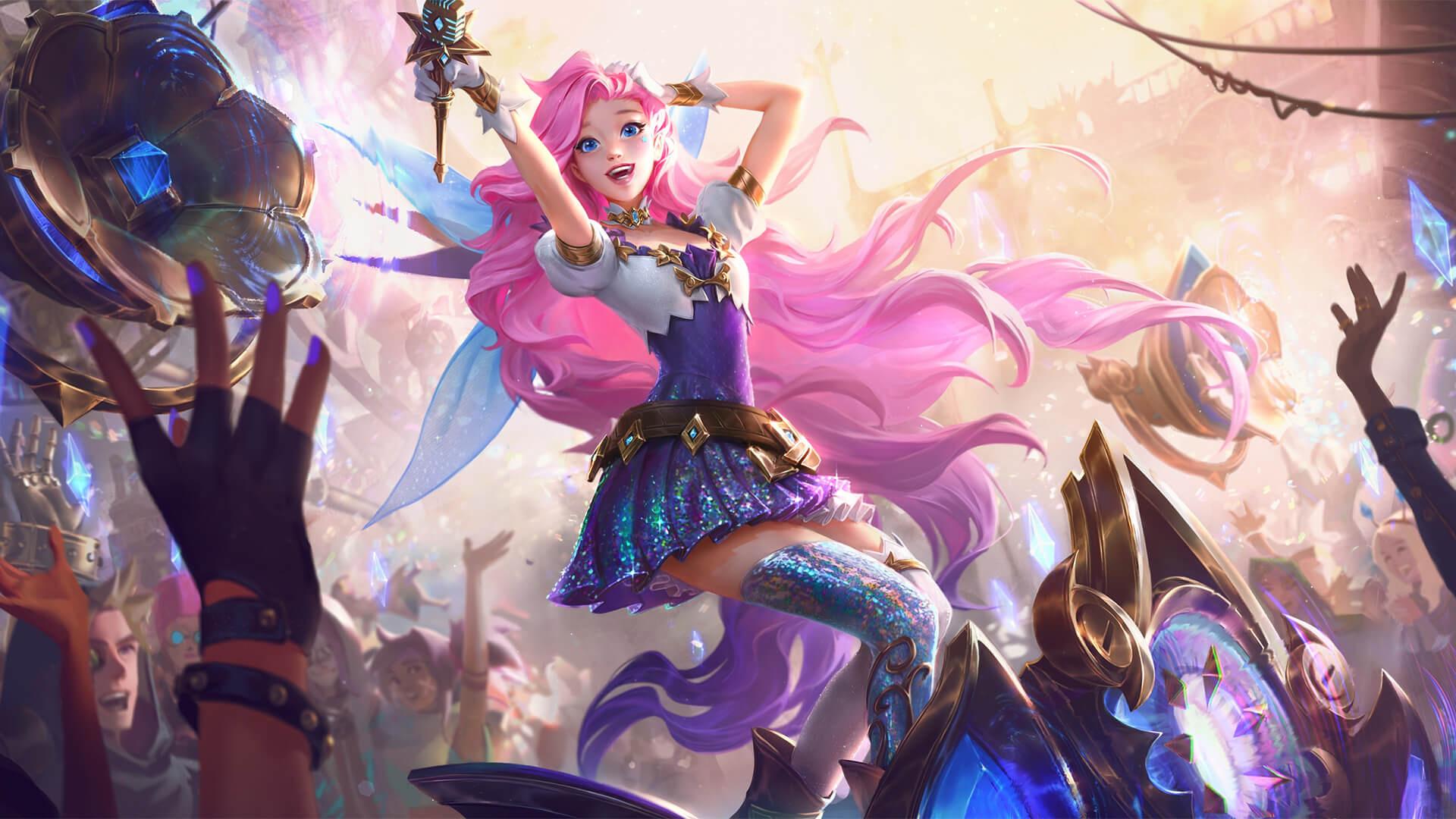Авторы League of Legends рассказали о способностях нового чемпиона — Серафины
