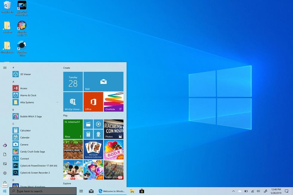Windows 10 (1909) выйдет позже, чем ожидалось