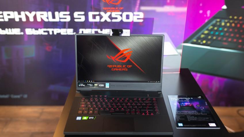Новые игровые ноутбуки ASUS ROG появились в России