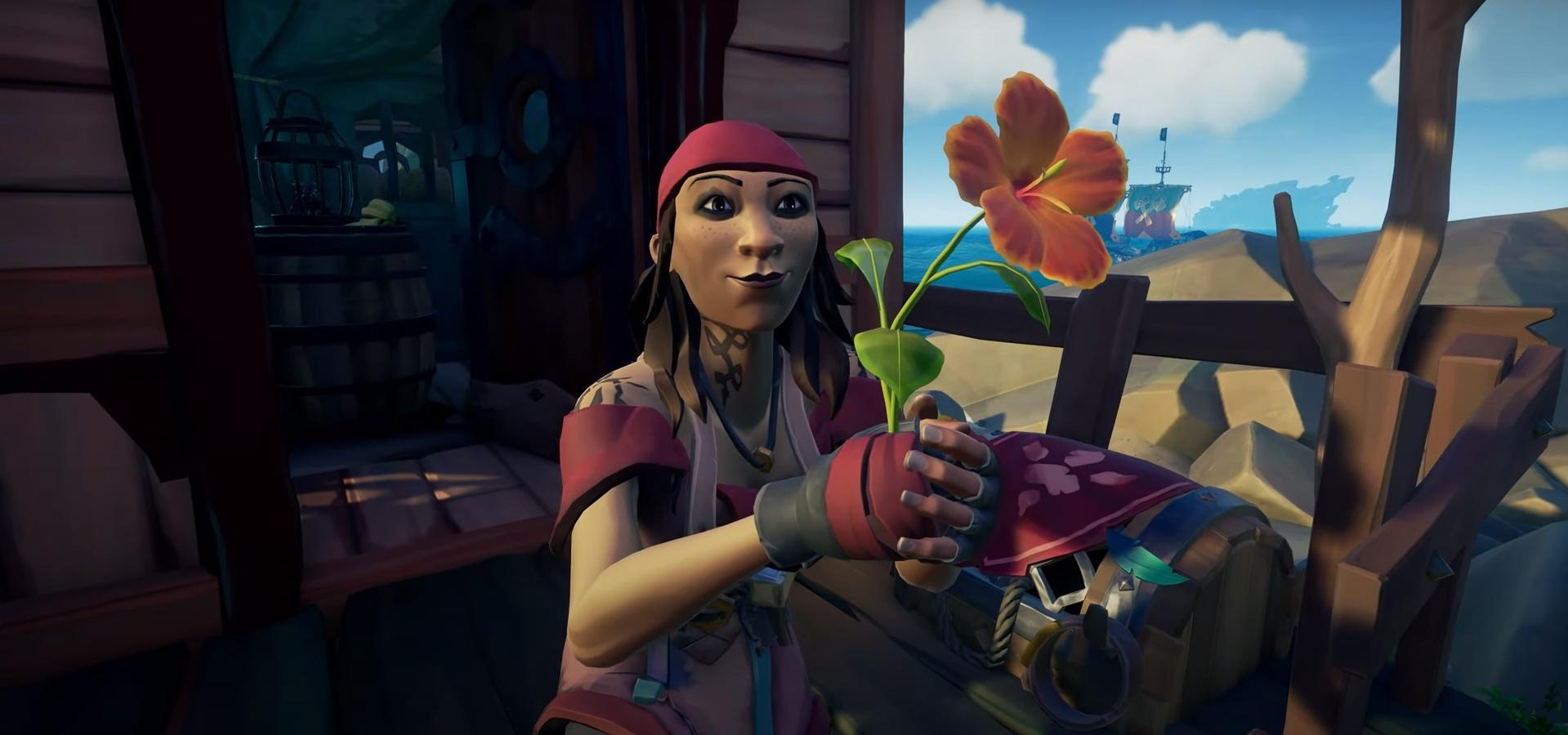 Для Sea of Thieves вышло «романтическое» обновление