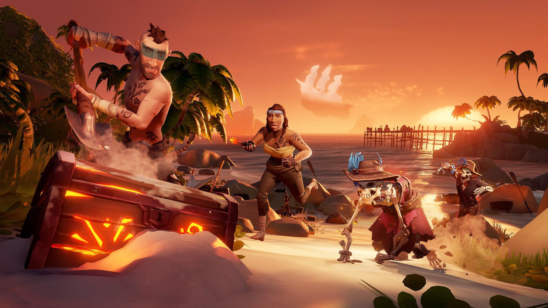 Sea of Thieves дебютировала в Steam на первой строчке чарта продаж