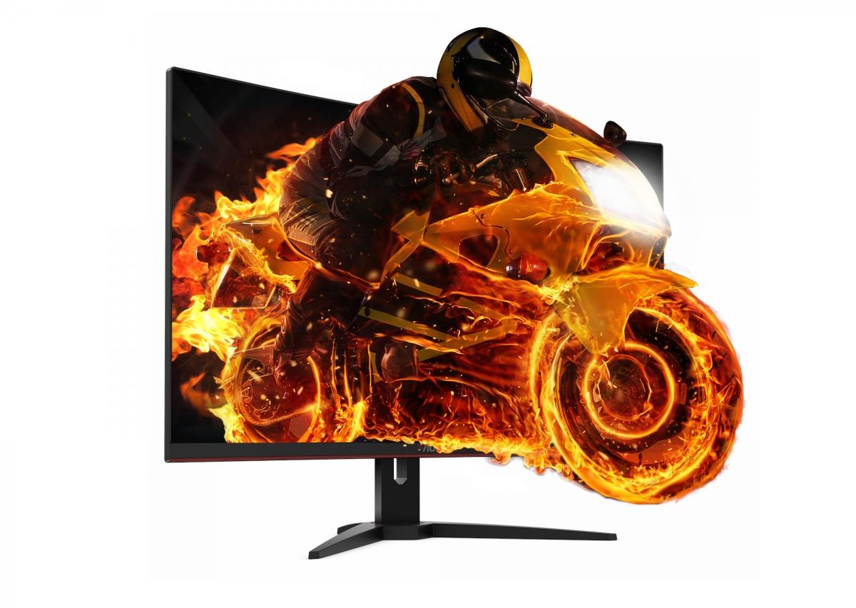Представлен геймерский монитор AOCCQ32G1