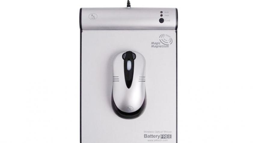 Беспроводная мышь без батареек