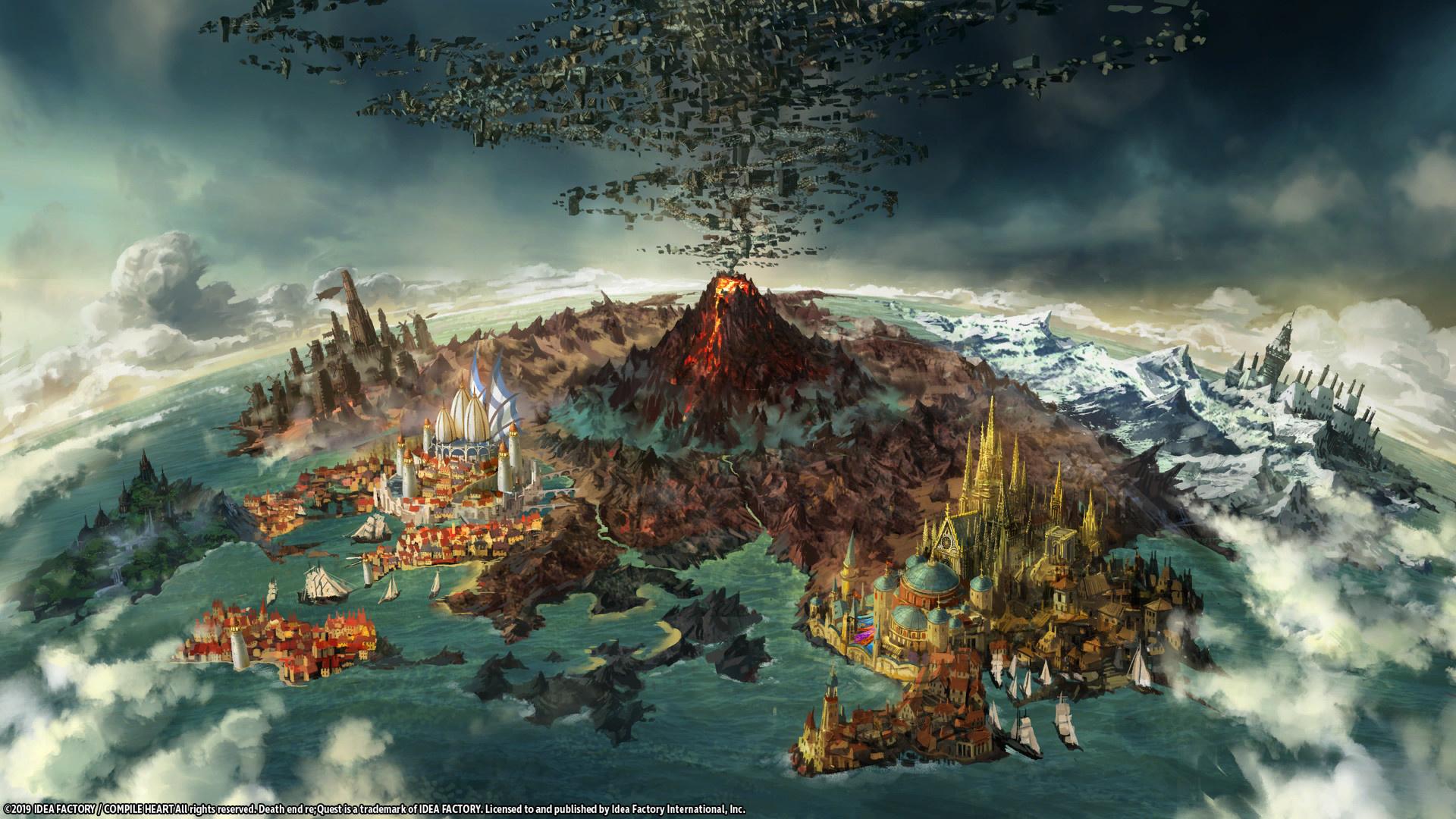 Death end re;Quest выходит на Nintendo Switch в апреле