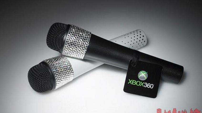 Новый микрофон для Xbox 360