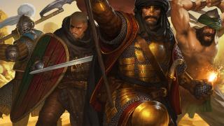 Восточное дополнение Blazing Deserts к стратегии Battle Brothers выйдет в августе