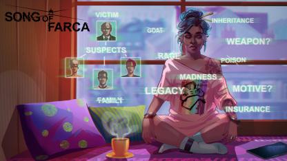Хакерский детектив Song of Farca выходит22 июля