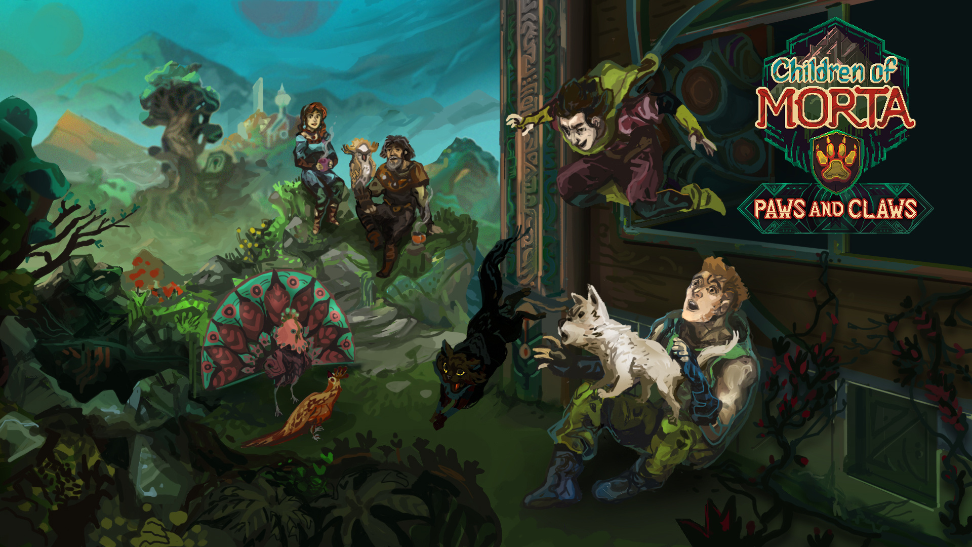 Для рогалика Children of Morta вышло дополнение Paws and Claws