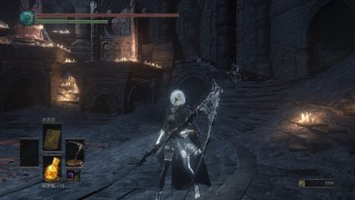 Мод добавляет 2B из NieR Automata Dark Souls3