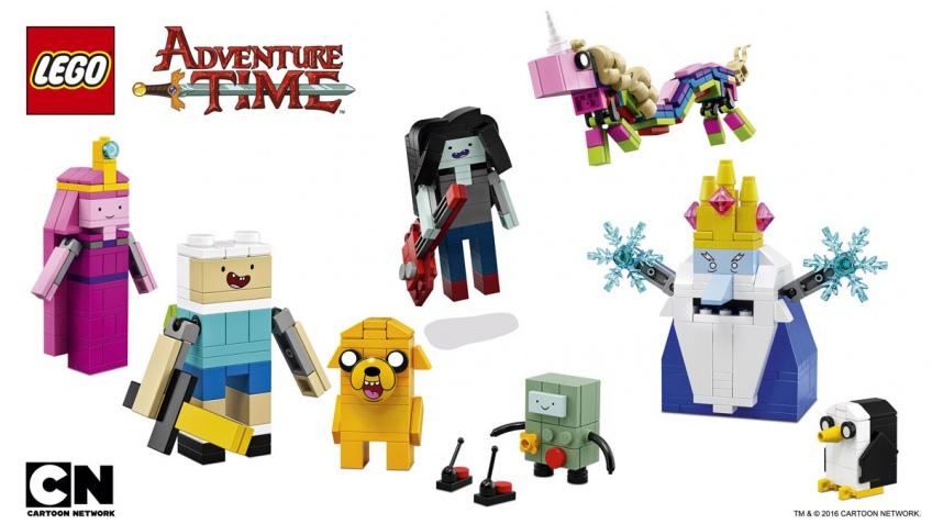 Мастера селфи могут выиграть набор LEGO — «Время приключений»