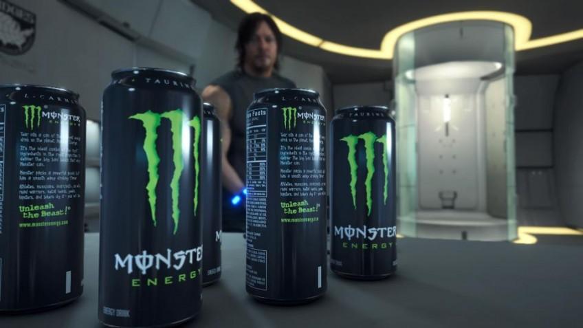 После релиза Death Stranding акции Monster Energy выросли, но прямой связи нет