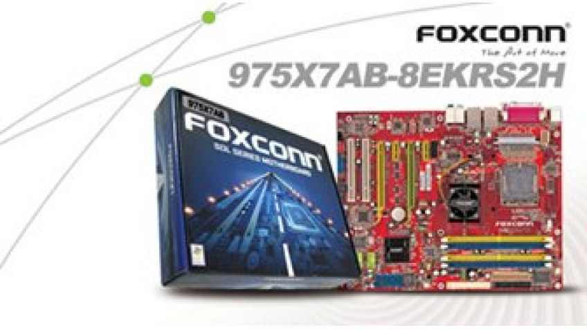 Плата Foxconn для Core2