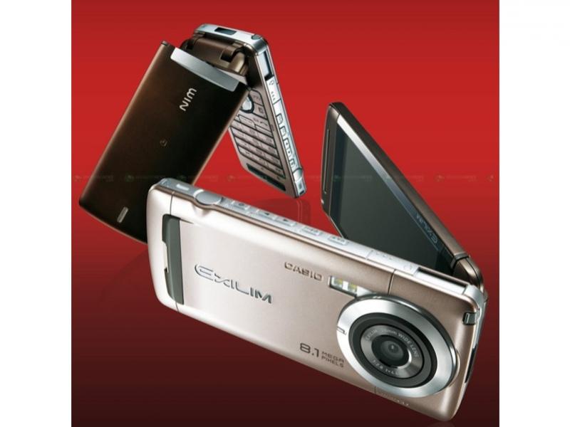 Камерофон Casio на8 Мп