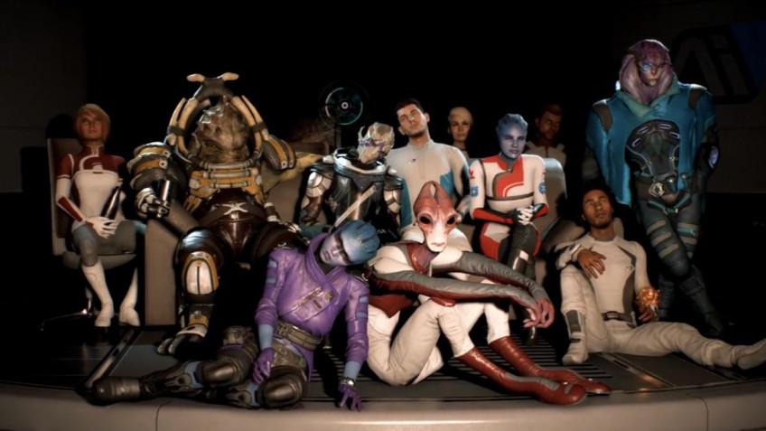 В Mass Effect Andromeda мало новых рас из-за косплееров и бюджета
