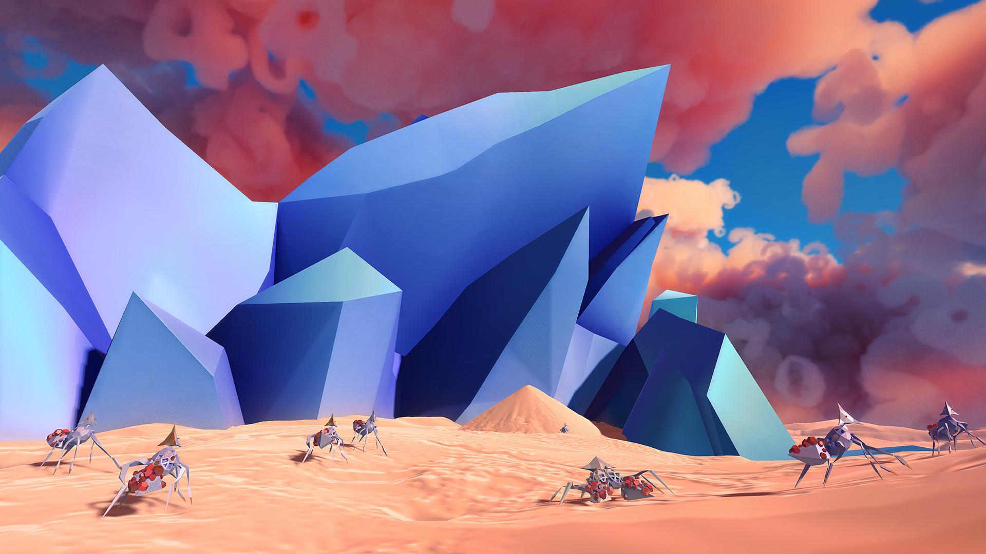 Paper Beast: Folded Edition выйдет 20 октября на PC