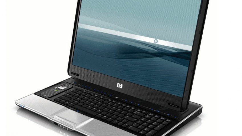 Огромный ноутбук HP