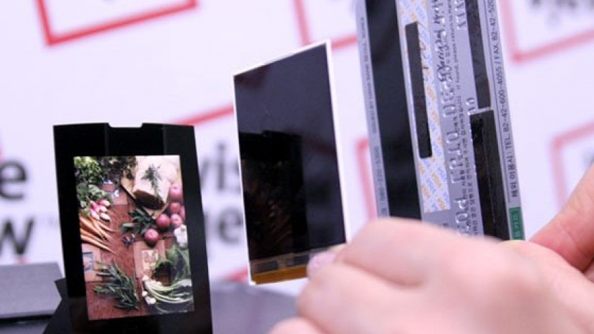 Тонкий дисплей от Samsung