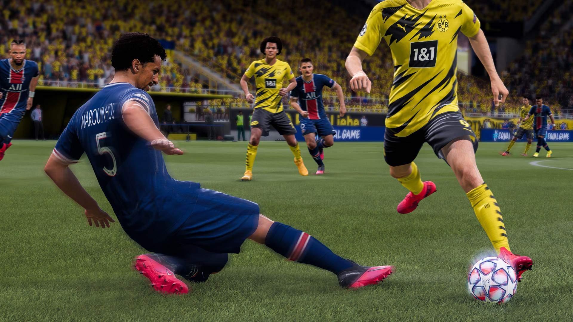 FIFA21 и игры для Switch доминируют в рознице Великобритании