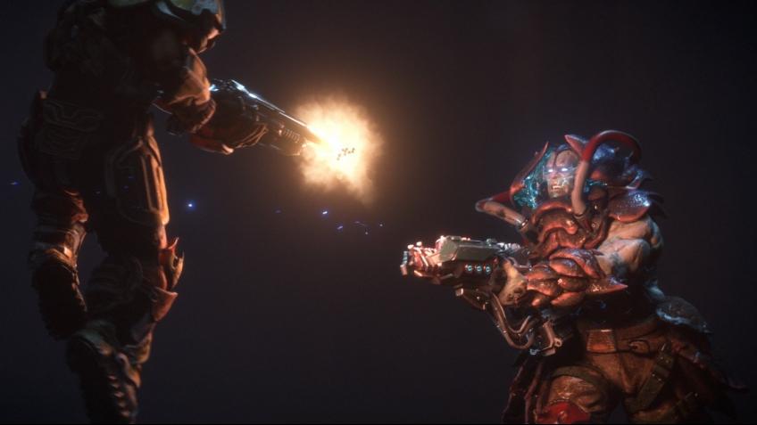 Создатели Quake Champions показали новые кадры геймплея