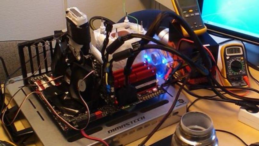 Radeon HD 5870 разогнали до1,5 ГГц