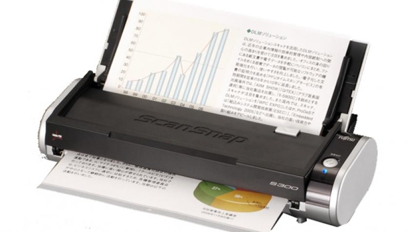 Карманный сканер с автоподачей