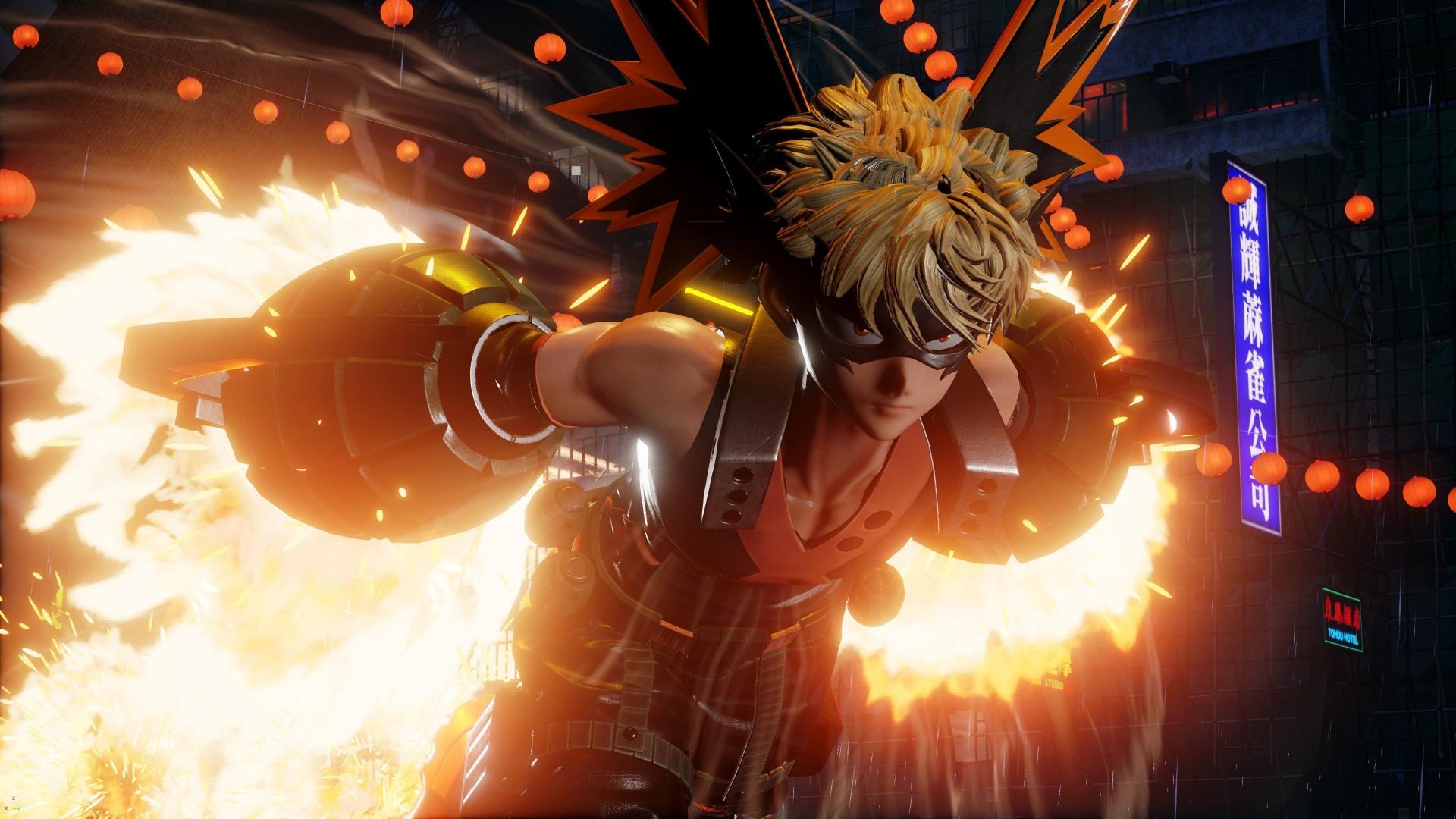 В Jump Force появится новый персонаж из Boku no Hero Academia