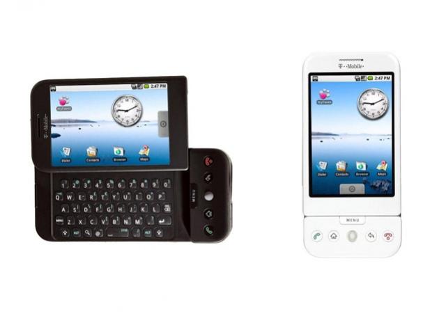T-Mobile G1 официально, Google Android пришел