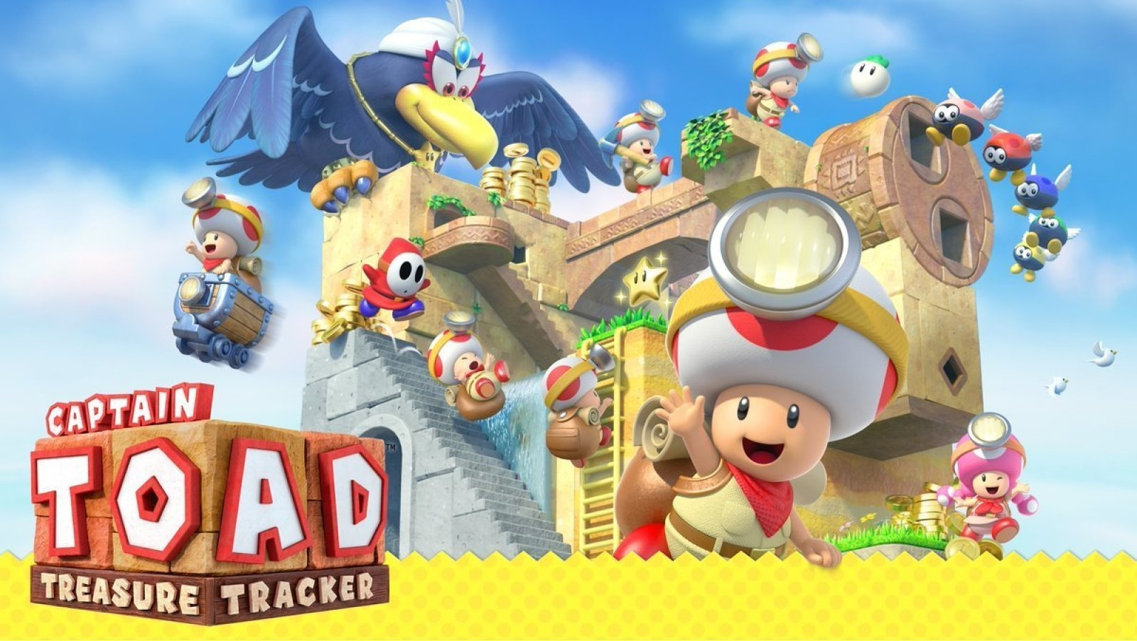 Captain Toad: Treasure Tracker получил поддержку Nintendo Labo VR