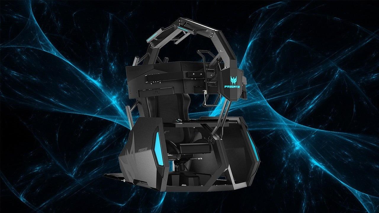 Acer Predator Thronos Air — новый «железный трон» для геймеров