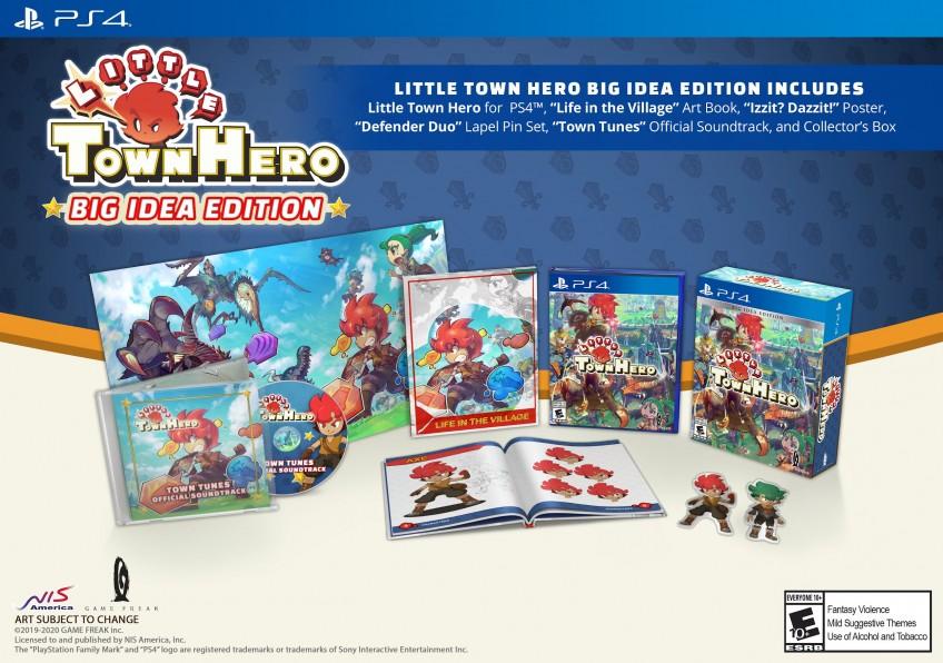Версию Little Town Hero для PlayStation4 выпустят на дисках