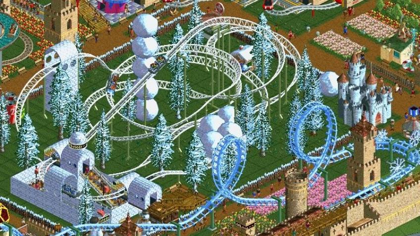 Демоверсия Roller Coaster Tycoon 2
