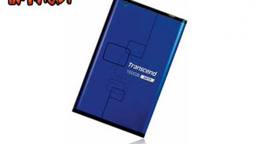 Transcend выпустила внешний SATA-винчестер на 160 Гб